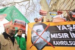 La Turchia Demonstraiton Immagini Stock Libere da Diritti