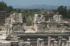 La Turchia, Ephesus Fotografia Stock