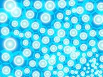 La turquesa burbujea fondo Imagen de archivo libre de regalías
