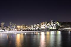 La Turquie, Bagla par nuit Images stock