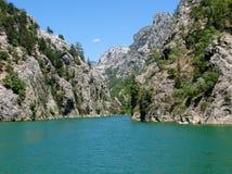 La Turquie. Canyon vert images stock