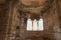 La Turquie, Demre, église de Saint-Nicolas, à l'intérieur du temple image libre de droits