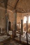 La Turquie, Demre, église de Saint-Nicolas, colonne antique photos libres de droits