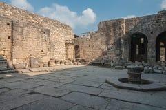 La Turquie, Demre, église de Saint-Nicolas, cour de temple photographie stock libre de droits