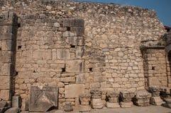 La Turquie, Demre, église de Saint-Nicolas, fragments du temple d'Artémis photos stock
