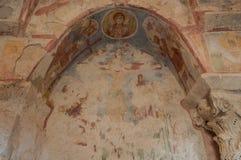 La Turquie, Demre, église de Saint-Nicolas, fresque photos libres de droits