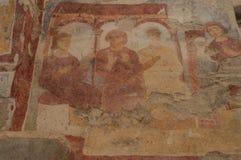 La Turquie, Demre, église de Saint-Nicolas, fresque photographie stock