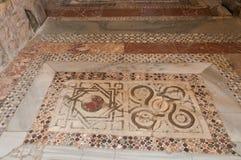La Turquie, Demre, église de Saint-Nicolas, mosaïque images stock