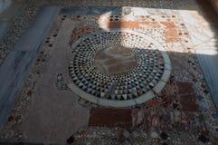 La Turquie, Demre, église de Saint-Nicolas, mosaïque photos stock