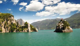 La Turquie. gorge verte Photo stock