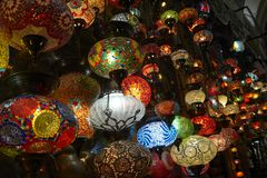 La Turquie, Istanbul, bazar grand Photo libre de droits