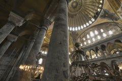La Turquie, Istanbul, cathédrale de rue Sophia Photos libres de droits