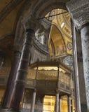 La Turquie, Istanbul, cathédrale de rue Sophia Photographie stock libre de droits