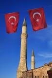 La Turquie, Istanbul, cathédrale de rue Sophia Image libre de droits