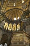 La Turquie, Istanbul, cathédrale de rue Sophia Images stock