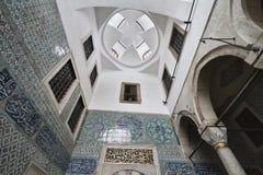 La Turquie, Istanbul, palais de Topkapi Images libres de droits