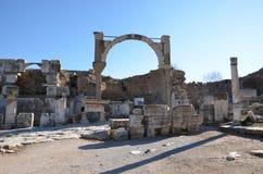 La Turquie, Izmir, le grec ancien de Bergama Image libre de droits
