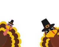 La Turquie Pilgrimin le jour de thanksgiving photo stock