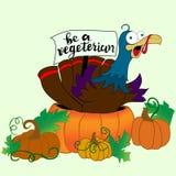 La Turquie pour le dîner de thanksgiving illustration stock