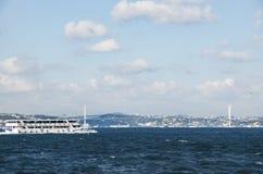 La Turquie retitre le pont de Bosphore '15 juillet Martyrs' le pont' Photographie stock