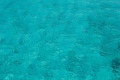 La turquoise voient l'eau Photos stock