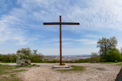 La ubicación del monumento del parque de Birkenkopf Stuttgart pasa por alto la visión Panora Imágenes de archivo libres de regalías