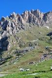 La UNESCO de las dolomías Imagen de archivo