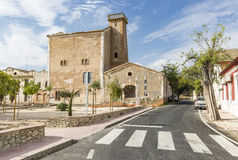 La Unión alcohol factory and the attached wine cellar in Santa Eulalia, Province of Alicante Stock Image