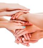 La unidad significa poder Foto de archivo libre de regalías