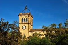 La universidad de Barcelona Imágenes de archivo libres de regalías