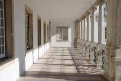 La universidad de Coímbra Imágenes de archivo libres de regalías