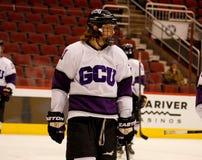 La universidad de Grand Canyon corre a medio galope hockey Fotos de archivo