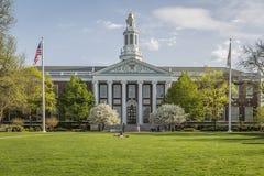La Universidad de Harvard Fotos de archivo