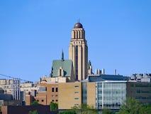 La universidad de Montreal imagenes de archivo