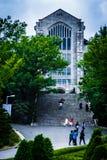 La universidad de la mujer de Ewha - universidad privada del ` s de las mujeres en Seul foto de archivo
