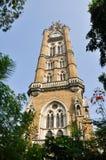 La universidad de Mumbai, la India Fotografía de archivo libre de regalías