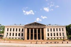 La universidad de Oslo Imágenes de archivo libres de regalías