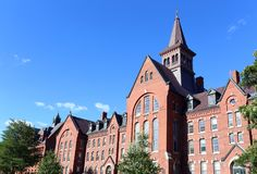 La universidad de Vermont foto de archivo libre de regalías