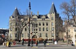La universidad de Winnipeg imagenes de archivo