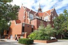 La universidad del auditorio de la Florida Imágenes de archivo libres de regalías