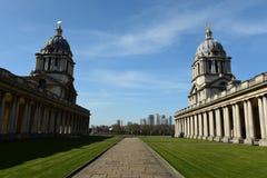 La universidad naval real vieja, Greenwich Fotos de archivo