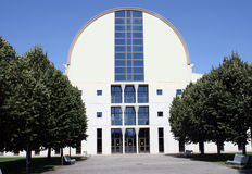 La universidad publica de Pamplona, Navarra, España. Fotografía de archivo libre de regalías
