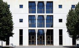 La universidad publica de Pamplona, Navarra, España. Imagen de archivo libre de regalías