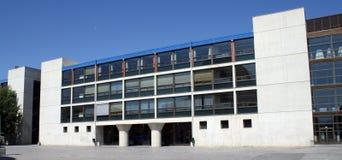 La universidad publica de Pamplona, Navarra, España. Fotos de archivo libres de regalías