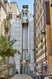 La urbaine extérieure Spezia Italie d'ascenseur photos stock