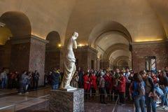 La Vénus de Milo, le Louvre, Paris, France Photographie stock libre de droits