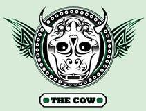 La vaca Imágenes de archivo libres de regalías