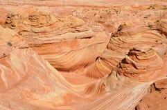 La vague, courbe de grès (Arizona) photographie stock