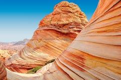 La vague, sud-ouest, Arizona - Utah photographie stock libre de droits