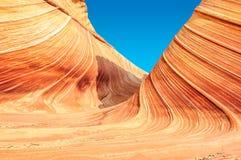 La vague, sud-ouest, Arizona - Utah Photos libres de droits
